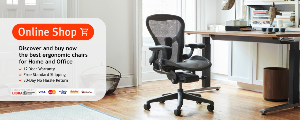 Discover and buy the best ergonomic chairs for home and office