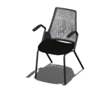 Sayl Side Chair 4-Leg Base Product Image