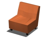 Swoop Armless Chair Product Image