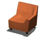 Swoop Left Arm Chair Product Image