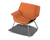 Swoop Plywood Lounge Chair Product Image