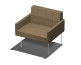 Tuxedo Club Chair Product Image