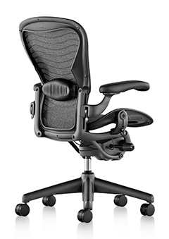 It s little wonder that the chair was added to the permanent collection of  the Museum of Modern Art even before the first one was sold Aeron Classic Chairs   Workspace Studio. Aeron Desk Chair. Home Design Ideas