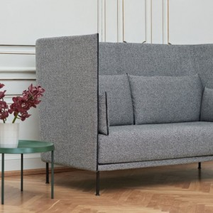 SILHOUETTE SOFA HIGH BACKED 2 SEATER MONO