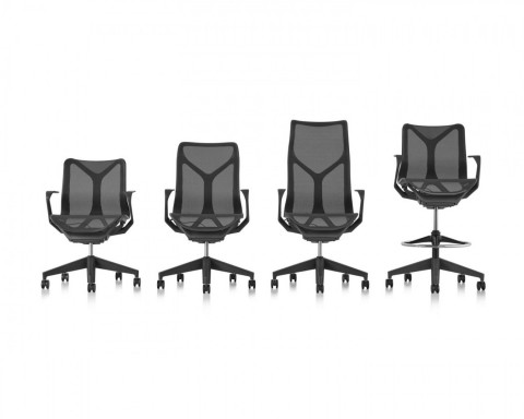 Cosm Chairs and Cosm Stool