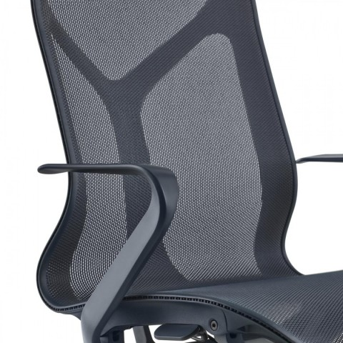 Cosm Chair, Fixed Arms and Intercept Suspension