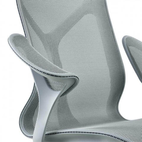 Cosm Chair, Leaf Arms and Intercept Suspension