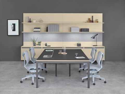 Layout Workwall Meeting Room